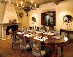 Tuscan Dining Room Chairs Decorating Ideas For Rustic Dining Room Decorin