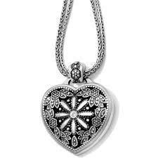 necklace with locket images Floral heart locket necklace necklaces jpg