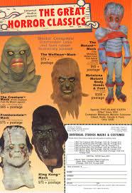 Halloween Monster List Halloween Masks Branded In The 80s