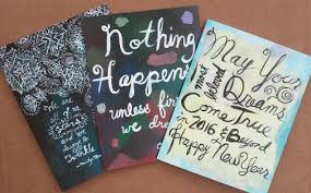 they re here inspirational cards for the holidays the