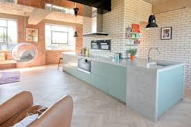 Two Kitchen Islands Kitchen Wall Painted In Faded Yellow White Kitchen Island With