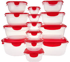 lock kitchen food qvc com 14pc nestable bowl idolza