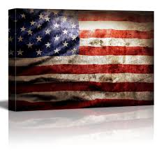 How To Display American Flag On Wall Wall26 Com Art Prints Framed Art Canvas Prints Greeting