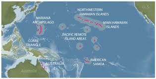Map Of Pacific Ocean I Researchers Receive Funds To Forecast Coral Disease Across