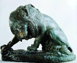 barye lion sculpture antoine louis barye lion with snake paulgosselin