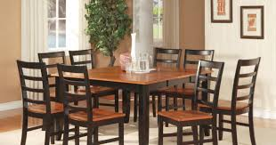 dining room charismatic square dining room table seats 12