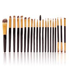 20pcs makeup brushes set pro powder blush foundation eyeshadow