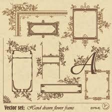 rose flower frame free vector download 14 986 free vector for