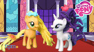applejack hairstyles my little pony applejack rarity twisty twirly hairstyles from