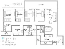 5 bedroom floor plan kingsford waterbay floor plans