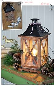 Diy Lantern Lights The Painted Hive Easy Diy Lantern L