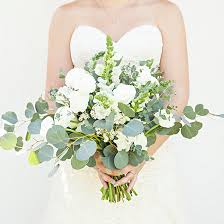wedding flowers eucalyptus bouquet blueprint lush organic eucalyptus