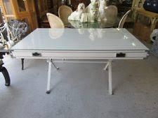 Campaign Style Desk Antique Desks U0026 Secretaries Ebay