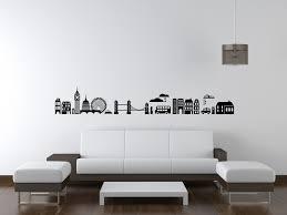 Custom Wall Decals For Nursery by London Skyline Wall Decal Modern Nursery Decor London Wall