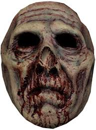 biter zombie halloween mask mad about horror scary vampire
