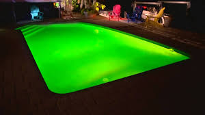 zodiac led pool lights new orleans green pool for st patrick s day premier pools spas