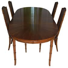 Bamboo Dining Table Set Henredon Faux Bamboo Dining Set Faux Bamboo Bamboo Table And Dining