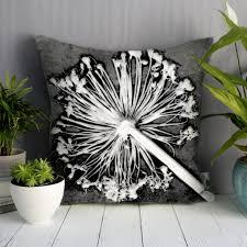 monochrome design sofa cushion bold design