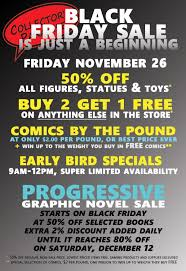 best saturday black friday deals 18 black friday sales in comic book stores bleeding cool news
