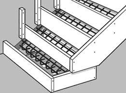 Pose En Coffrage Armatures Sur Plans Comment Créer Un Escalier Extérieur En Béton Leroy Merlin