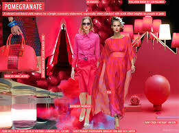 color forecast fruity pomegranate ss 14 u0027 fft spotting trends