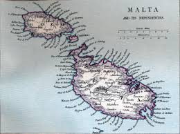 Malta World Map Large Old Map Of Malta With Relief And Other Marks 1907 Malta