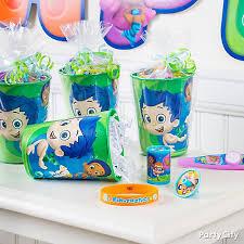 Bubble Guppies Decorations Bubble Guppies Party Ideas Party City