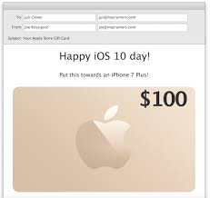 email gift certificates email apple store gift card