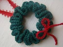 beginner wreath ornament allfreecrochet