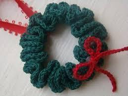 beginner wreath ornament allfreecrochet