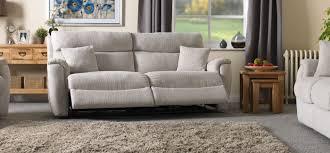 Chenille Reclining Sofa by La Z Boy Indiana 3 Seater Power Recliner Sofa Home Main Floor