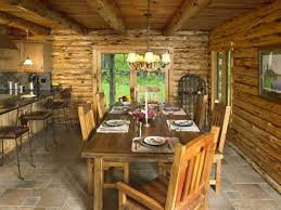 Log Dining Room Sets by Log Home Dining Rooms Log Cabin 021011 Best Decor Home Interior