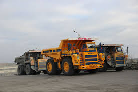 on november 25 2016 the first mining dump truck belaz with