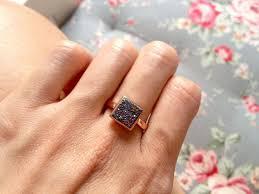 girls stone rings images Peacock druzy ring quartz ring geode ring stone ring girl gift jpeg