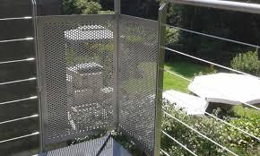 balkon lochblech balkone balkongeländer dirk utracik metallbau und maschinenbau