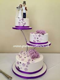 3 tier wedding cake stand separator stand 3 tier wedding cake and groom topper was