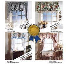 window treatments pattern valance and jabots pattern mock cornice