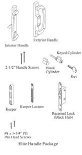 Patio Door Lock Parts Sliding Patio Door Parts Sliding Glass Door Lock Parts