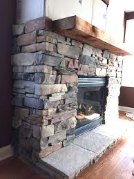 installing a stone fireplace hearth building outdoor unique design