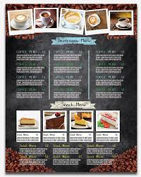 coffee shop menu template 40 effective psd restaurant menu design templates web graphic