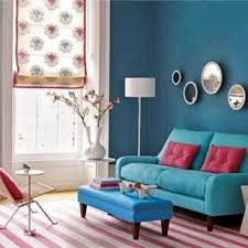 best teal and red living room on this years living room