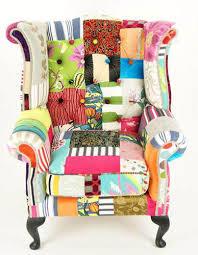 Patchwork Upholstered Furniture - patchwork fabric pattern modern furniture upholstery fabrics