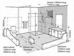 Handicapped Bathroom Showers This Bathroom Has Wheelchair Accessibility To Use Sink And