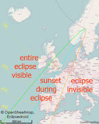 China Eclipses Europe As 2020 Solar Eclipse Of August 21 2017