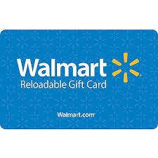 reloadable gift cards basic blue walmart gift card walmart