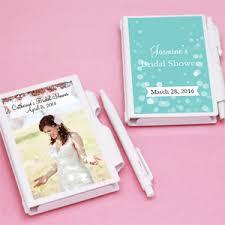 bridal shower favor bridal shower personalized notebook favors bridal shower favors