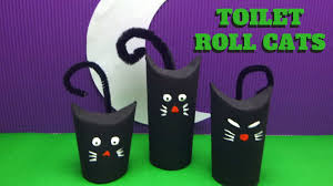 Halloween Craft Pictures by Halloween Craft Toilet Paper Roll Cat Toilet Paper Roll Crafts