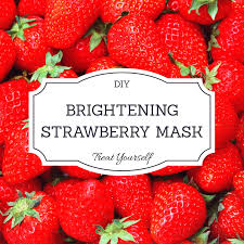 is your skin ready for spring diy strawberry mask u2013 dial m style