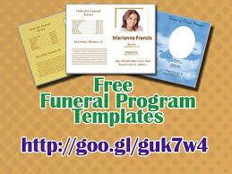 funeral program template free download 79 best funeral program