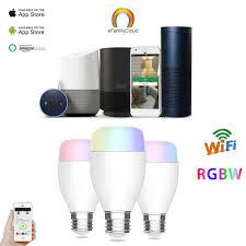 google home automation lights home automation 6w e27 240v wifi l wireless led light bulb l